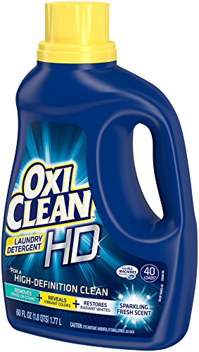 OxiClean HD Laundry Detergent, Sparkling Fresh, 60 Oz Home ...