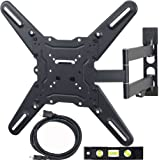 VideoSecu LED LCD TV Wall Mount for 23 to 55 inch Televisions up to 88 lb VESA 400x400 mm with Full Motion Swivel... by VideoSecu