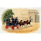 Victorian Christmas Card (Print On Demand)