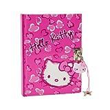 Hello Kitty Leopard Pink Heart Print - Diary
