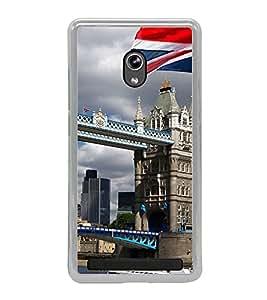 London Bridge 2D Hard Polycarbonate Designer Back Case Cover for Asus Zenfone 6 A600CG