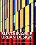 cover of Sustainable Urban Design: An Environmental Approach