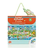 Animal Alphabet Puzzle Game