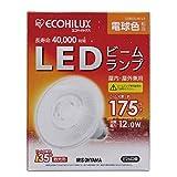 アイリスオーヤマ LEDビームランプ E26口金 25W形相当 電球色 下方向タイプ エコハイルクス LDR12L-W-V3