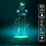 CMLART Dragon Ball Frieza Art Design 3d Lamp Night 7 Color Change Best Gift Night Light LED Furnish Desk Table Lighting Home Decoration Toys