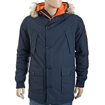 Superdry Everest Coat indigo/jaffa: Amazon.co.uk: Clothing