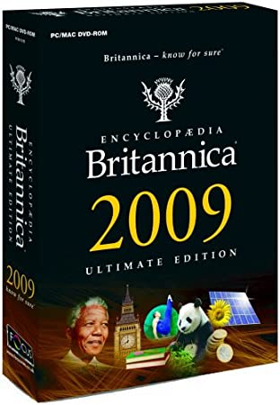 Encyclopaedia Britannica 2009 Ultimate Edition (Mac/PC)