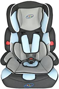 Bebe Style Deluxe Group 1 2 3 Childs Car and Booster Seat (Blue)
