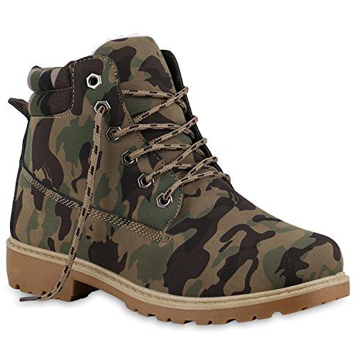 damen-schuhe-127613-stiefeletten-camouflage-38
