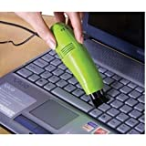 Cosi Fashion(TM) New Mini USB Powered Vacuum Keyboard Cleaner Dust Collector Laptop Computer (Green)