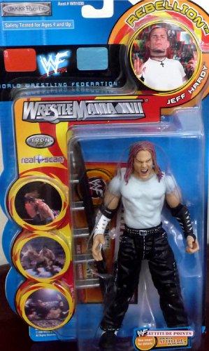 Buy Low Price Jakks Pacific JEFF HARDY WWE WWF Wrestlemania XVII Rebellion Series 1 Figure (B004XIMQTS)