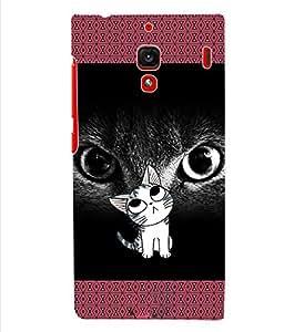 ColourCraft Cat Back Case Cover for XIAOMI REDMI 1S