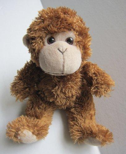 """Plush Monkey 6"""" Tall Sitting - 1"""