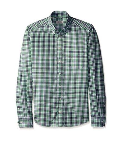 Eton Men's Slim Fit Checked Sportshirt