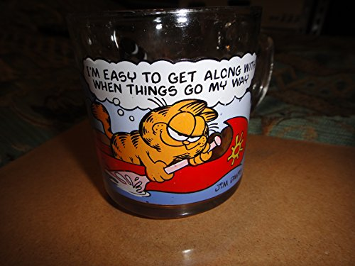 Garfield McDonald`s Glass Mug 1978