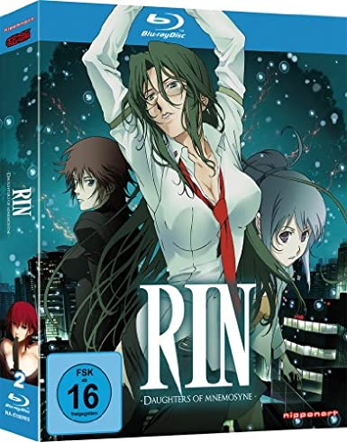 RIN: Daughters of Mnemosyne, Blu-ray
