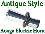 CHROME AHOOGA 12v Electric Horn Antique Replica Vintage Autos aka: aooga ooga a-oo-ga hooga
