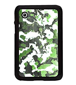Army Fatigue Pattern 2D Hard Polycarbonate Designer Back Case Cover for Samsung Galaxy Tab 2 :: Samsung Galaxy Tab 2 P3100