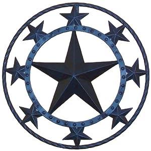 amazon com ll home metal star wall decor home decor rustic metal star wall sculpture home decor texas country