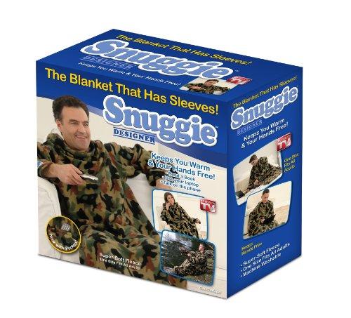 Snuggie Fleece Blanket with Sleeves