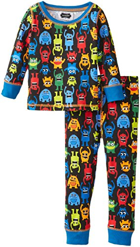 Mud Pie Baby-Boys Infant Monster Lounge Set, Multi, 18 Months front-1038731