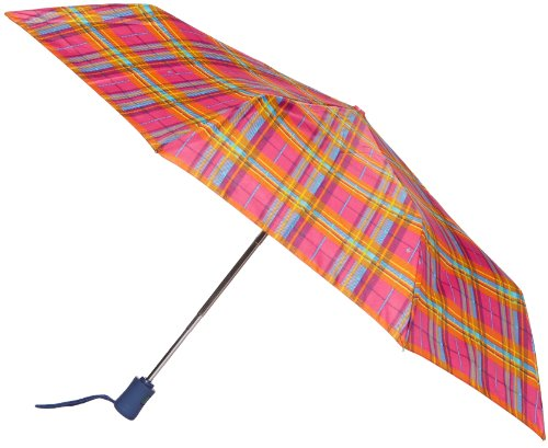 Fulton Fulton Open & Close 4 Photo Rose Red Women's Umbrella