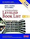 img - for The Fountas and Pinnell Leveled Book List K-8+, Volume 1 (Fountas & Pinnell Leveled Book List, K-8) by Irene C. Fountas (2013-06-01) book / textbook / text book