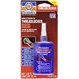 Permatex 27140 High Strength Threadlocker Red, 36 ml Bottle
