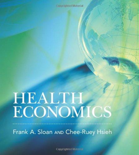 Health Economics 0262016761