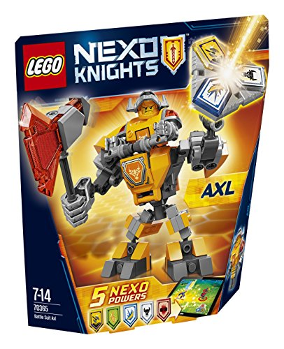 レゴ (LEGO) ネックスナイツ バトルスーツ アクセル 70365