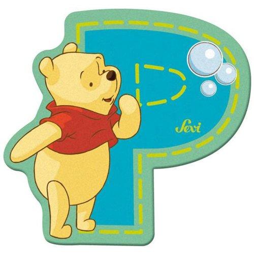 Sevi 82774 Klebebuchstabe P Winnie the Pooh