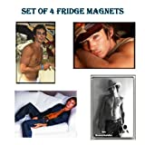 Set of 4 Ian Somerhalder SEXY HUNKS - The Vampire Diaries Fridge Magnetsby Calendarforall