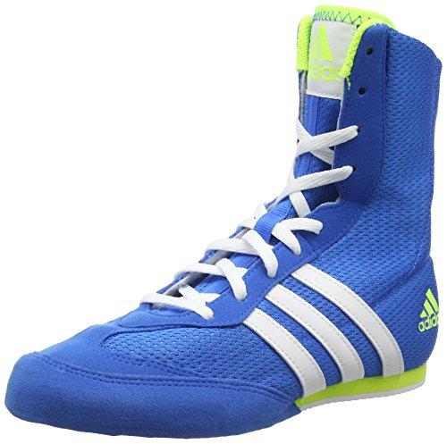 Adidas Box Hog 2, Scarpe da Boxe Unisex - Adulto, Blu, 44 EU