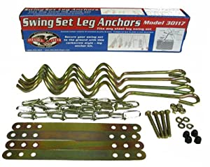 Buy Flexible Flyer Ground Anchor Kit for Metal Frame Swing Sets by Flexible Flyer