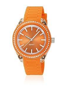 Esprit - A.ES900672007 - Montre Femme - Quartz Analogique - Bracelet Silicone Orange
