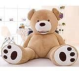 【哲学の部屋】ぬいぐるみ 特大 くま/テディベア 可愛い熊 動物 大きい くまぬいぐるみ/熊縫い包み/クマ抱き枕/お祝い/ふわふわぬいぐるみ 130cm