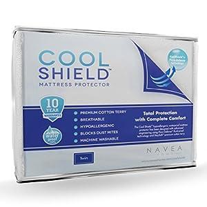 Amazon Com Cool Shield No Allergy Waterproof Mattress