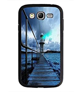 PrintDhaba Wooden Bridge D-2337 Back Case Cover for SAMSUNG GALAXY GRAND I9082 (Multi-Coloured)