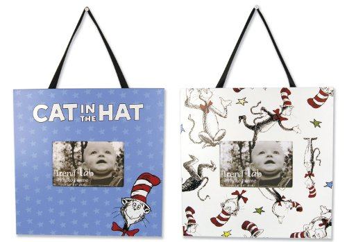 Trend Lab Dr Seuss Cat in the Hat 2 Piece Frame Set