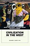 img - for Civilization in the West, Penguin Academic Edition, Volume 2 book / textbook / text book