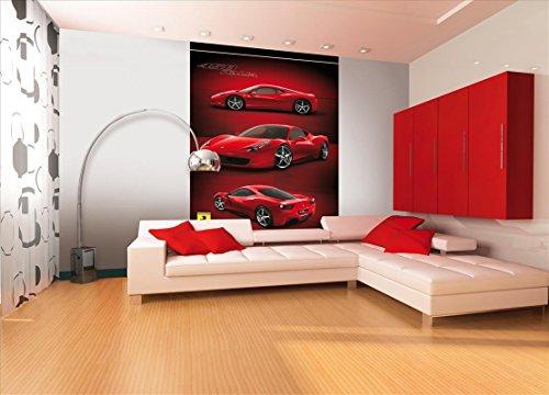 1wall-ferrari-racing-car-feature-wallpaper-mural-wood-red-158-x-232-m