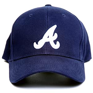 MLB Atlanta Braves LED Light-Up Logo Adjustable Hat by Lightwear