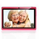 "Multi-Color 7"" Google Android 4.4 Quad Core Dual Cameras 8GB Tablet PC video review"