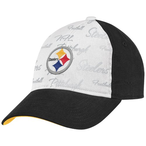 NFL Women's Fan Gear Slouch Adjustable Hat - EQ59W (Pittsburgh Steelers, One Size Fits All)