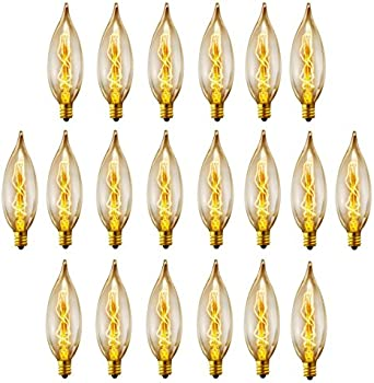 20Pk. Globe Electric 25W Light Bulbs