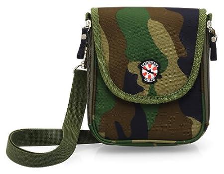 Nintendo 3DS / DSi / DSi XL / DS Lite / DS / Sony PSP / PSP Go - Army Bag -camouflage- Tasche