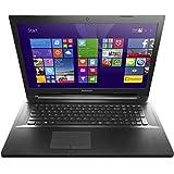 Lenovo G70-70 43,9 cm (17,3 Zoll HD+ TN) Notebook (Intel Core i3-4005U, 1,7GHz, 4GB RAM, 500 GB HDD, Intel HD 4400 Graphics, Win 8.1) schwarz