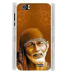 Lord Shirdi Sai Baba Sab Ka Malik Ek Soft Silicon Rubberized Back Case Cover for Lava Iris X5 :: Lava Iris X5 4G