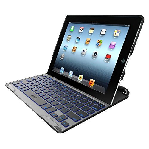 ZAGG PROfolio Ultrathin Case with Bluetooth Keyboard for iPad 2/3/4-Black
