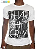 Kanye West & Jay Z T-Shirt, Mens That Sh!t Cray Printed Top, Watch The Throne Fashion Clothing